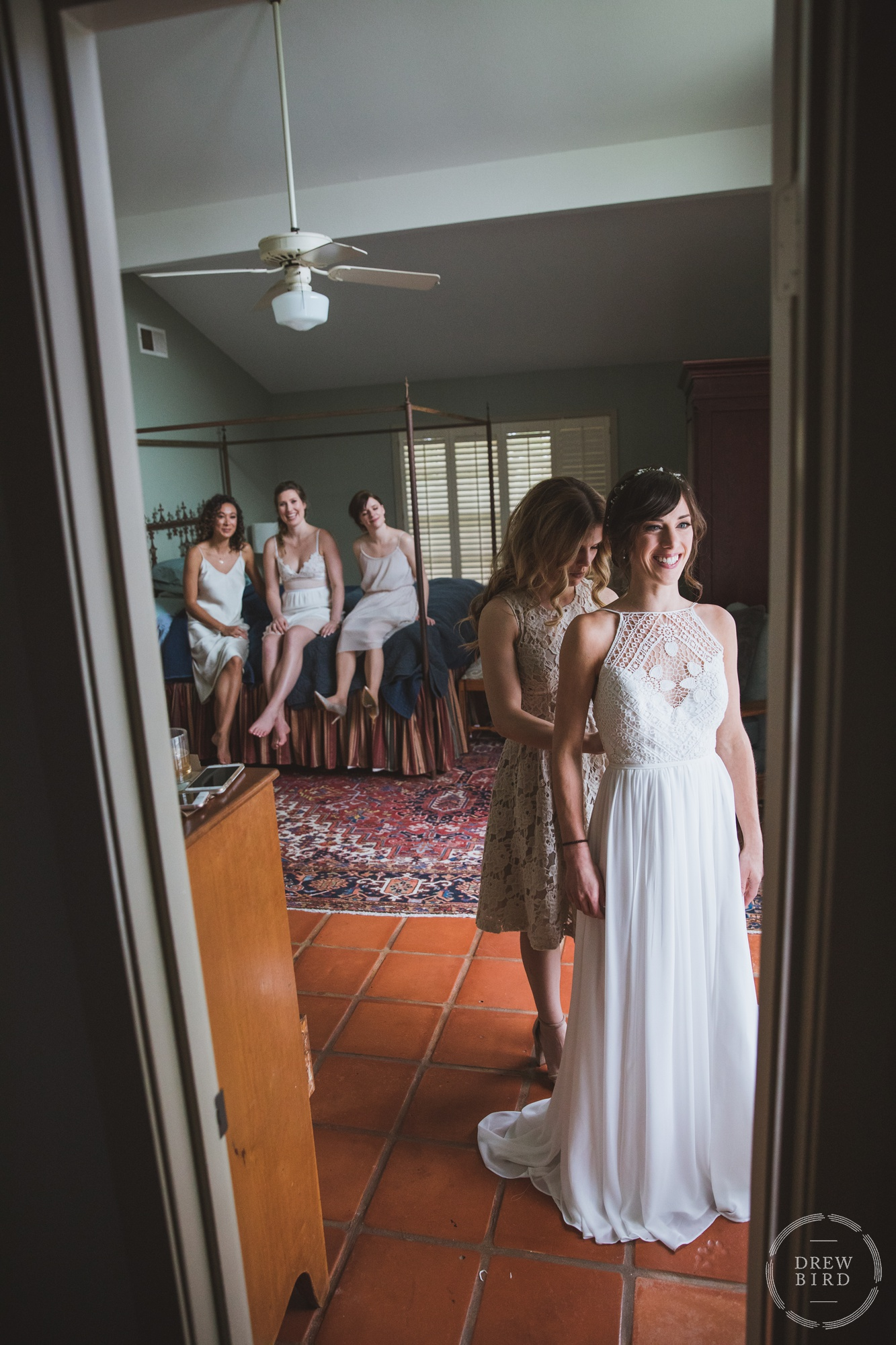 Carmen + Barrett's Wedding. Rockin' Y Ranch | Austin, Texas. Bride Getting Ready Photos. San Francisco wedding photographer. Lake Tahoe wedding photographer. Oakland wedding photographer. Elopement photographer. Drew Bird Photography. Wedding Photojournalism.