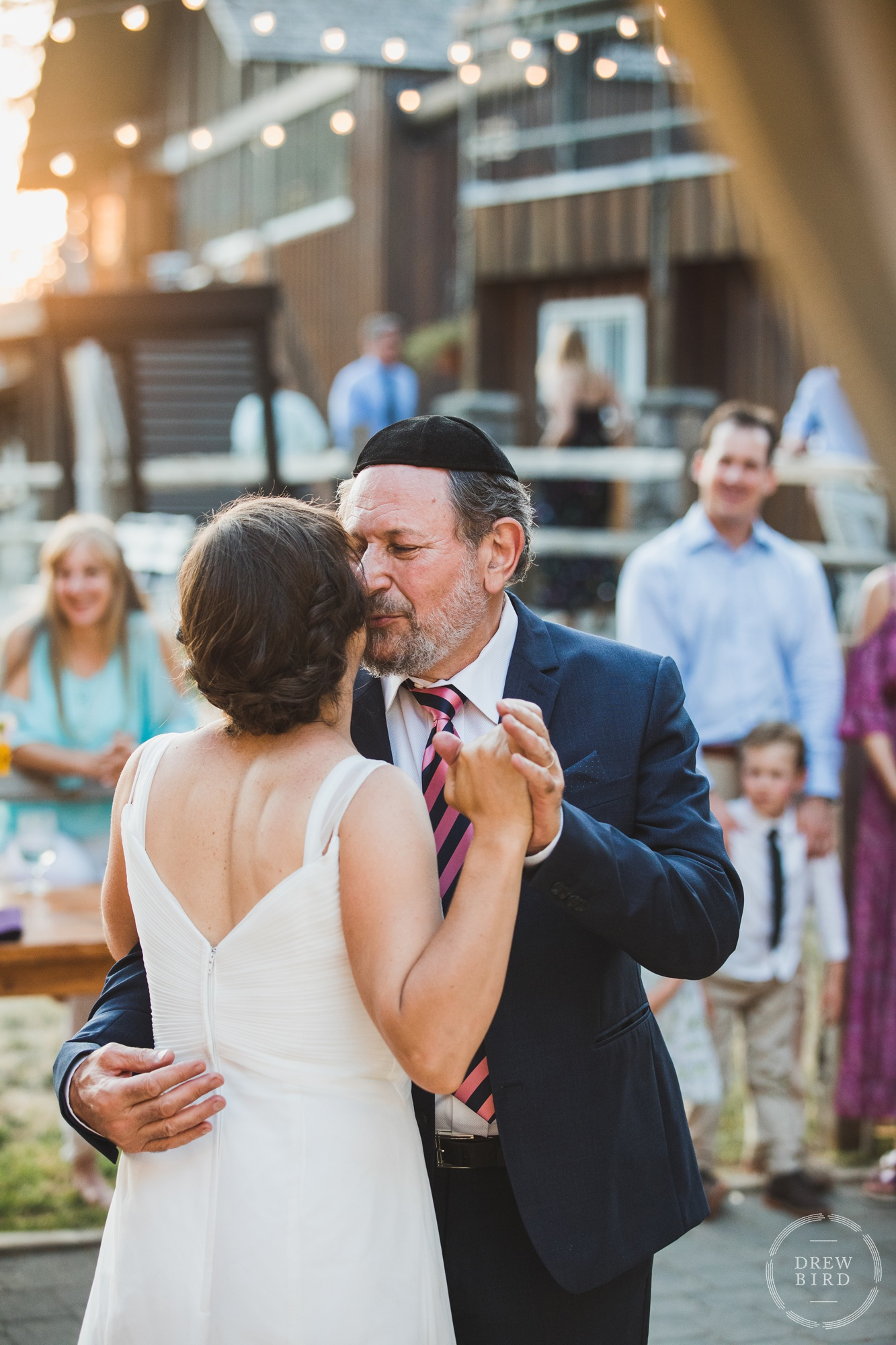 Mt. Hood Ski Bowl Wedding  Ski Bowl Warming Hut Wedding Ceremony  Lori Ann & Kieran's Mt. Hood Destination Wedding Photography  Drew Bird Photography San Francisco Wedding Photojournalism Have Camera. Will Travel. www.drewbirdphoto.com